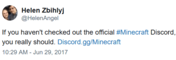 Official Minecraft Discord
